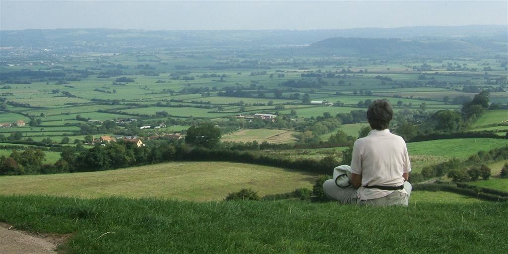From a hill in England, 2010